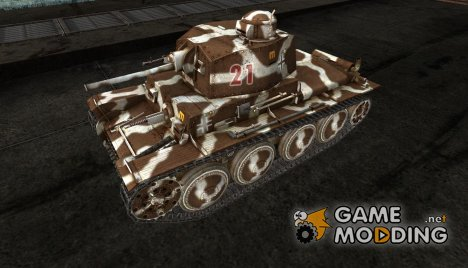 Шкурка для Pz38t for World of Tanks