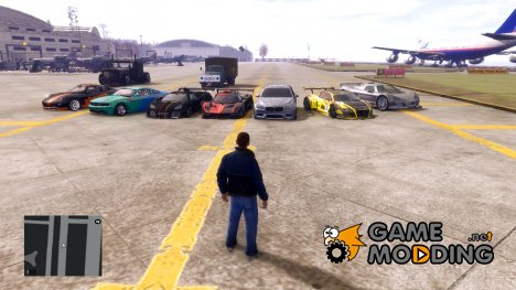 GTA IV Sport CAR pack для GTA 4