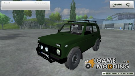 ВАЗ Niva 4x4 для Farming Simulator 2013
