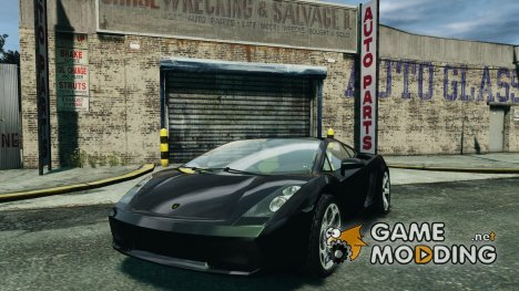 Lamborghini Gallardo for GTA 4