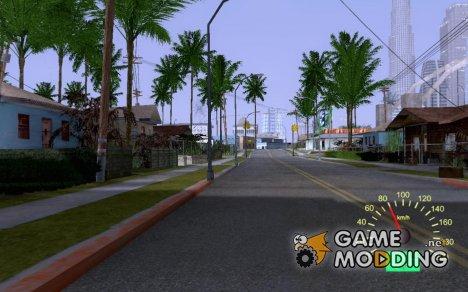 Lada 110 Speedometer V2 для GTA San Andreas