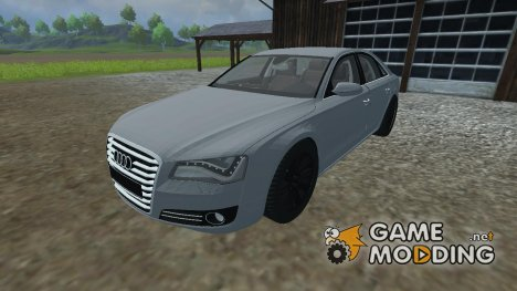 Audi A8 2012 for Farming Simulator 2013