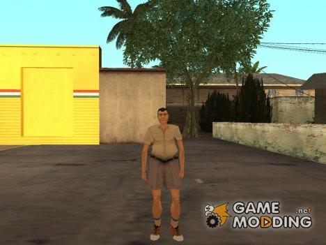 Турист из GTA VC для GTA San Andreas