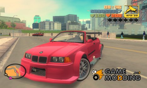 "BMW M3 E36 ""TT Black Revel"" для GTA 3"