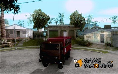 КамАЗ 4310 Вахта for GTA San Andreas