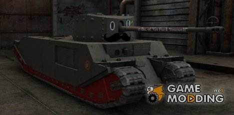 Mustachioed TOG II* skin для World of Tanks