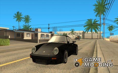 Porsche 911 Black V2 для GTA San Andreas