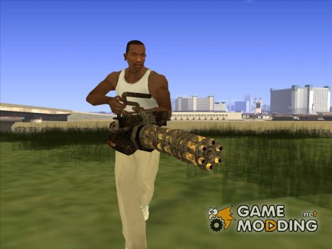 Minigun Postapokalipsis for GTA San Andreas