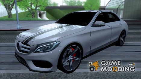 Mercedes-Benz C250 AMG Edition V1.0  2014 for GTA San Andreas