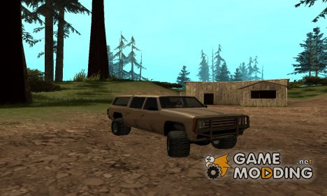 Military offroad Rancher для GTA San Andreas