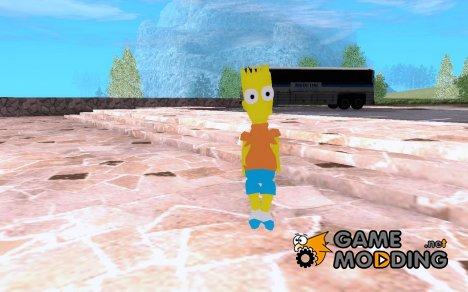 Барт Симпсон for GTA San Andreas