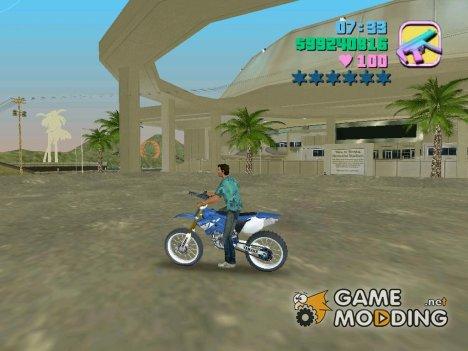 Не слетать с байка для GTA Vice City