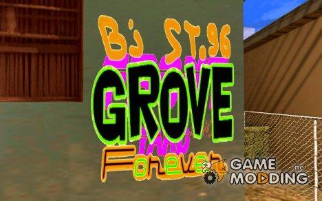 Новые графити банд for GTA San Andreas