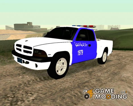 Dodge Dakota Iraqi Police для GTA San Andreas