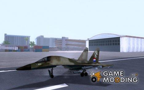 Sukhoi SU-34 Dutch/Nederlandse Skin for GTA San Andreas
