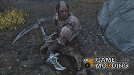 Darksiders 2 Skull Scythe for TES V Skyrim