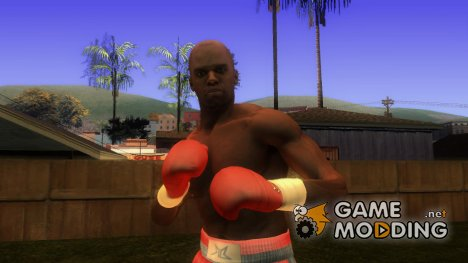 Boxer skin from real boxing для GTA San Andreas