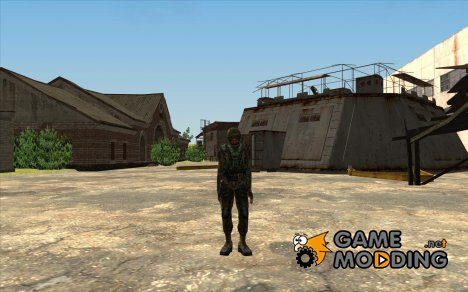 "Свободовец в бронекостюме ""Страж свободы"" for GTA San Andreas"