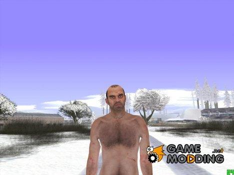 Skin HD GTA V Голый Тревор для GTA San Andreas