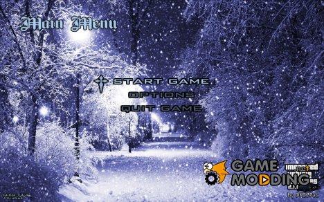 Snow menu for GTA San Andreas
