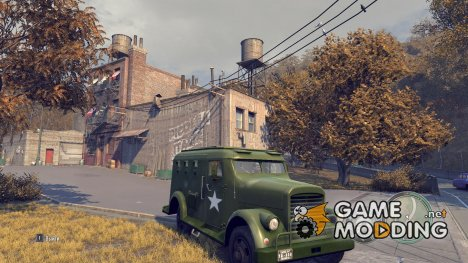 Военный Shubert Armored Van for Mafia II