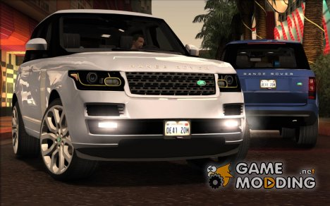 Land-Rover Range Rover Supercharged Series IV  2014 для GTA San Andreas