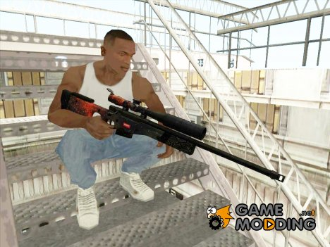 AWP Spase для GTA San Andreas