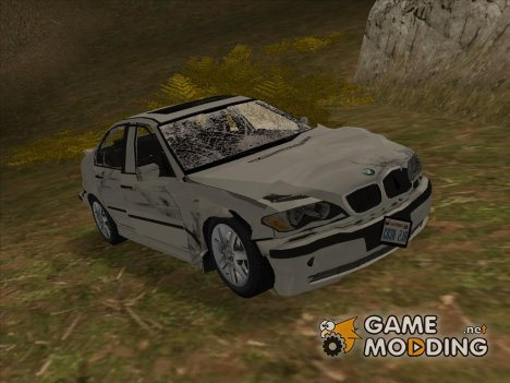 BMW 325i разбитая for GTA San Andreas