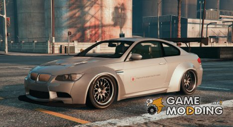 BMW M3 E92 LibertyWalk for GTA 5