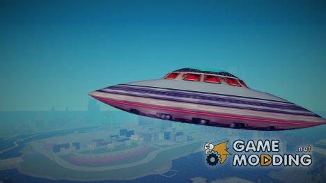 UFO (НЛО) для GTA 3