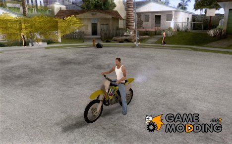 Suzuki RM250 for GTA San Andreas