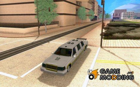 Limousine con autista для GTA San Andreas