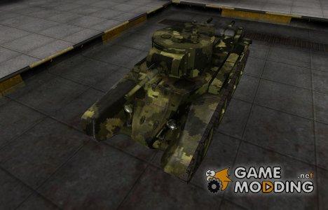 Камуфлированный скин для БТ-7 for World of Tanks
