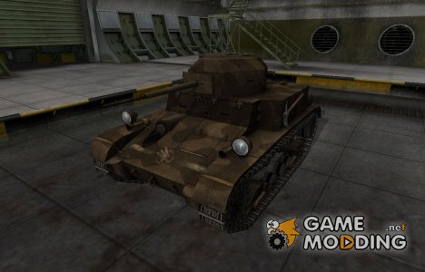 Скин в стиле C&C GDI для T2 Light Tank для World of Tanks