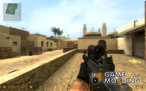 HavOc And Twinke's SG552 ³ для Counter-Strike Source