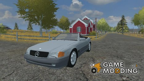 Mercedes-Benz 500SL для Farming Simulator 2013