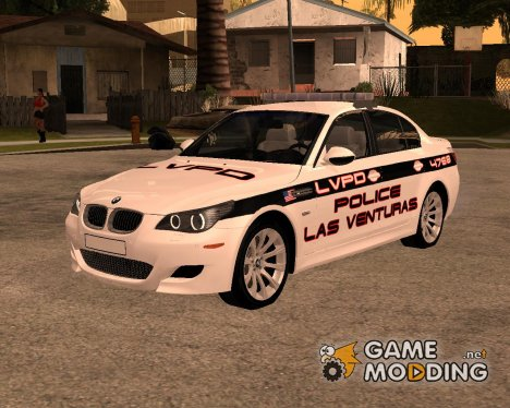 BMW M5 E60 Police LV for GTA San Andreas