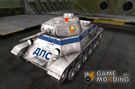 Remodel Т-50 ДПС для World of Tanks