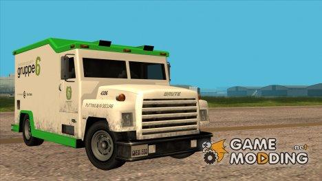Brute Securicar (1990) for GTA San Andreas