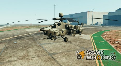 "MI-28 ""Night Hunter"" v0.01 for GTA 5"