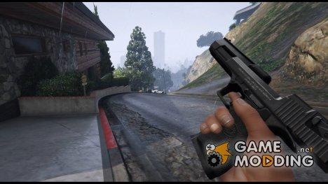 Desert Eagle (Black) для GTA 5