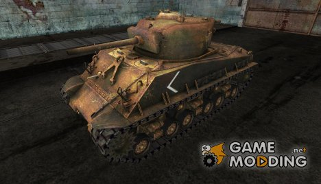 Шкурка для M4A3E8 Sherman for World of Tanks
