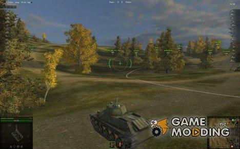 Аркадный прицел ZX Lite for World of Tanks
