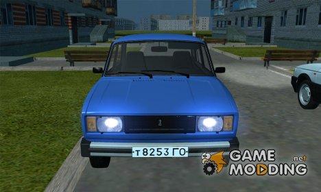ВАЗ 2105 (USSR version) для GTA San Andreas