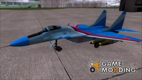 MiG-29 Russian Falcon for GTA San Andreas