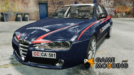 Alfa Romeo 159 Carabinieri для GTA 4