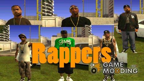 Англоязычные реперы for GTA San Andreas