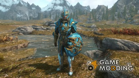 Allannaa Skyrim Stained Glass Armour для TES V Skyrim