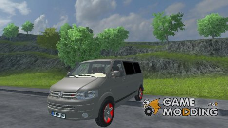 Volkswagen Caravelle 2 5L With AHK V 2.0 for Farming Simulator 2013