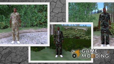 Военный камуфляж для CJ for GTA San Andreas
